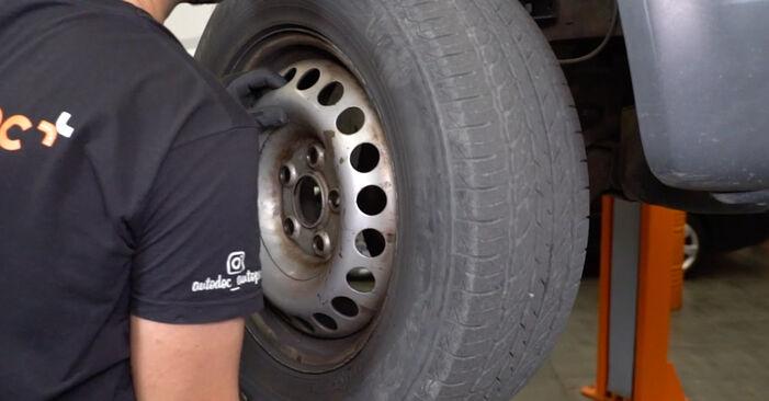 Ersetzen Sie Koppelstange am VW Transporter V Kastenwagen (7HA, 7HH, 7EA, 7EH) 2.0 TDI 2006 selber