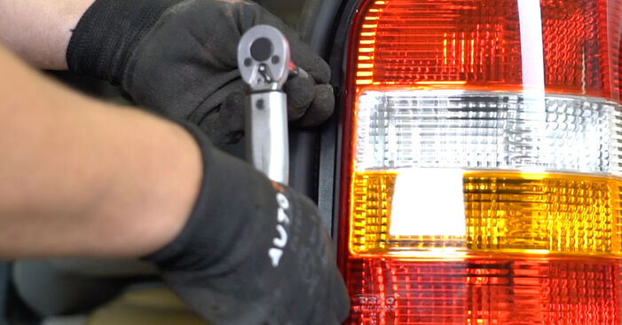 Replacing Tail Lights on VW T5 Van 2013 2.5 TDI by yourself