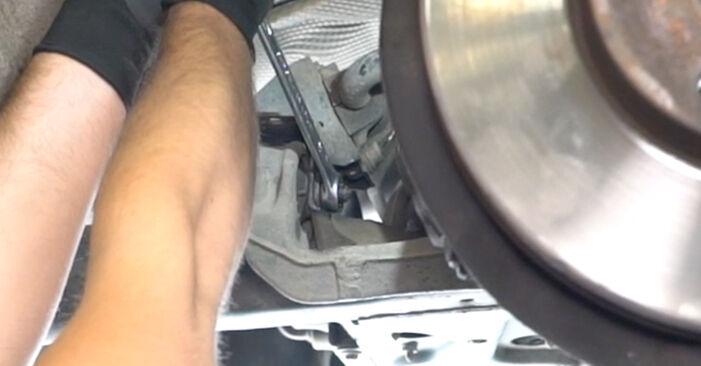 Combien de temps dure le remplacement : Rotule de Suspension sur VW Transporter T5 2011 - manuel PDF informatif