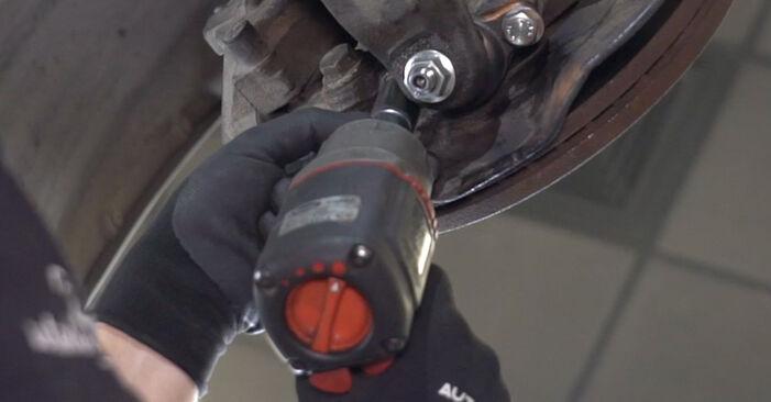 Faites-le vous-même : tutoriel en ligne pour le changement de VW TRANSPORTER Rotule de Suspension