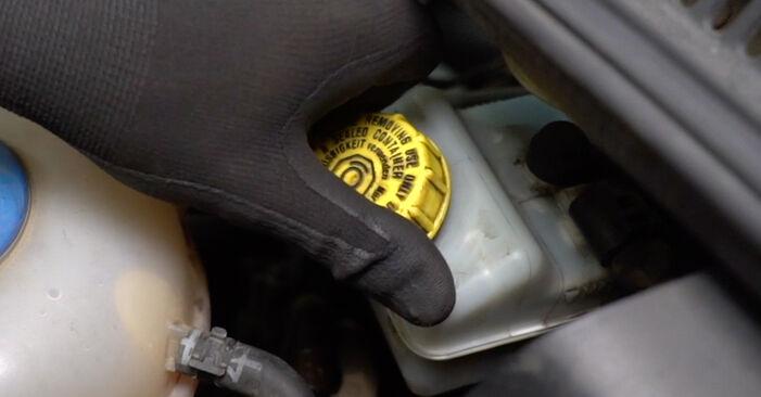 Bremssattel am VW Transporter V Kastenwagen (7HA, 7HH, 7EA, 7EH) 2.5 TDI 4motion 2008 wechseln – Laden Sie sich PDF-Handbücher und Videoanleitungen herunter