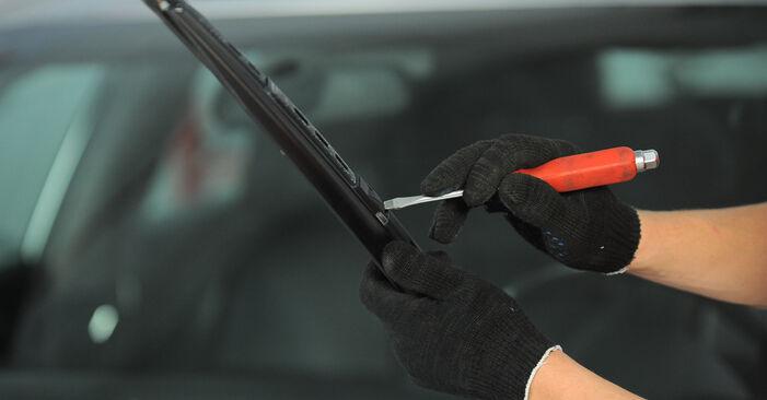 Audi A4 b6 2.0 2002 Valytuvo gumelė keitimas: nemokamos remonto instrukcijos