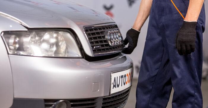 Wie Luftfilter Audi A4 B6 1.9 TDI 2000 tauschen - Kostenlose PDF- und Videoanleitungen