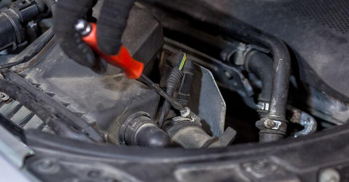 Wechseln Luftfilter am AUDI A4 Limousine (8E2, B6) 1.8 T 2003 selber