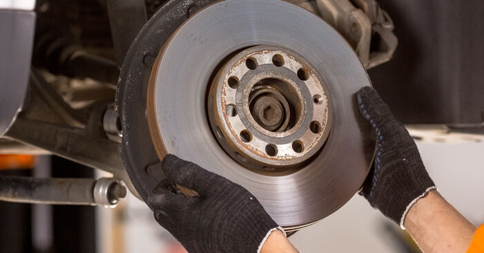 Schritt-für-Schritt-Anleitung zum selbstständigen Wechsel von Audi A4 b6 2003 1.6 Bremsscheiben