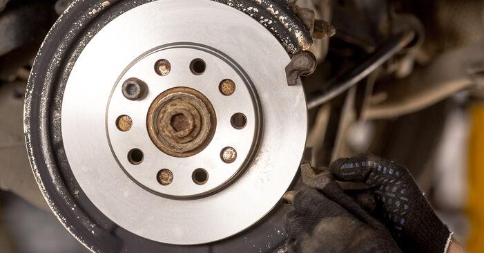 Bremsscheiben Audi A4 B6 2.5 TDI quattro 2002 wechseln: Kostenlose Reparaturhandbücher