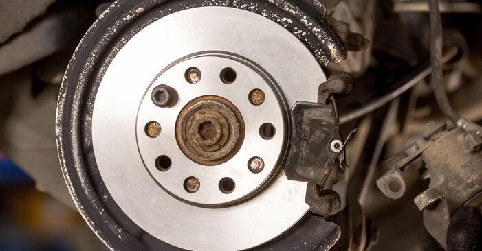 Wie AUDI A4 1.6 2004 Bremsscheiben ausbauen - Einfach zu verstehende Anleitungen online