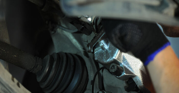Bremssattel beim AUDI A4 1.8 T quattro 2002 selber erneuern - DIY-Manual