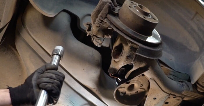 How to remove AUDI A4 1.6 2004 Shock Absorber - online easy-to-follow instructions