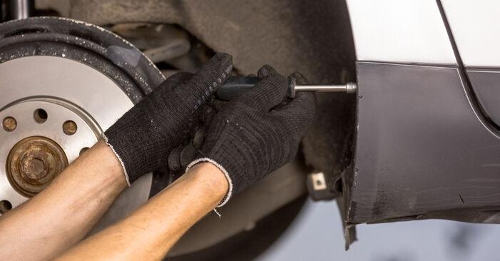 Wie schwer ist es, selbst zu reparieren: Domlager Audi A4 b6 2.5 TDI 2001 Tausch - Downloaden Sie sich illustrierte Anleitungen