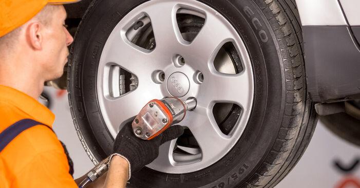 Domlager Audi A4 b6 2.5 TDI quattro 2002 wechseln: Kostenlose Reparaturhandbücher