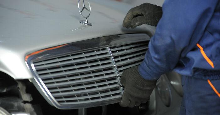 Tausch Tutorial Domlager am MERCEDES-BENZ E-Klasse Limousine (W211) 2006 wechselt - Tipps und Tricks