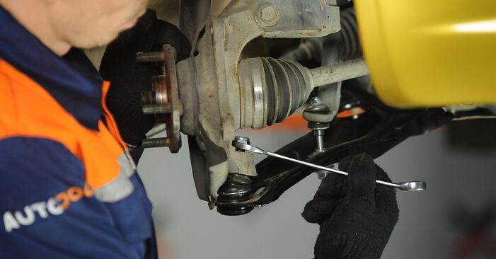 Yaris Hatchback (_P1_) 1.5 (NCP13_) 2003 Rolamento da Roda manual de substituição de oficina por si mesmo