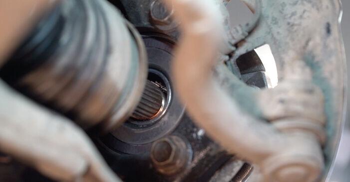 Como trocar Rolamento da Roda no TOYOTA Yaris Hatchback (_P1_) 2004 - dicas e truques