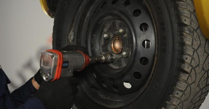 Recomendações passo a passo para a substituição de Toyota Yaris p1 2005 1.5 (NCP13_) Rolamento da Roda por si mesmo