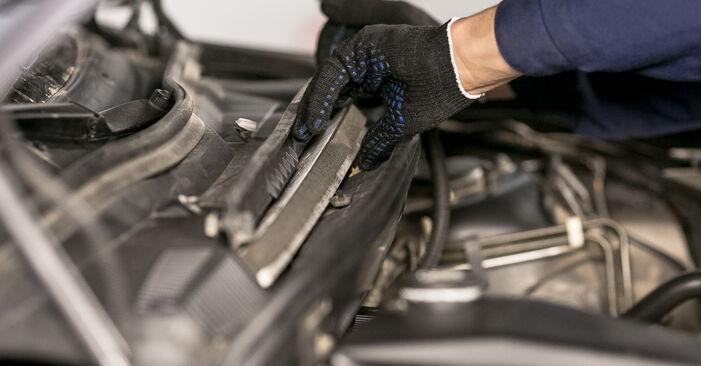 Wechseln Innenraumfilter am BMW X5 (E53) 4.6 is 2003 selber