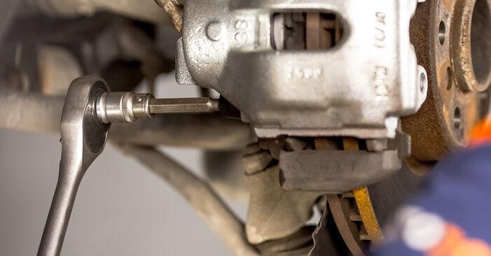 BMW X5 2007 Bremssattel Stufenweise Anleitung zum Austausch