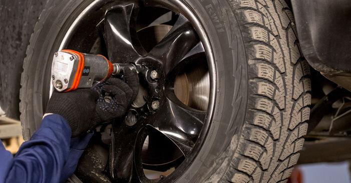 Wechseln Sie Bremssattel beim BMW X5 (E53) 4.6 is 2003 selbst aus