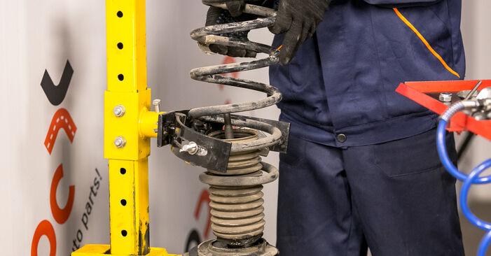 Wie schwer ist es, selbst zu reparieren: Federn BMW E53 3.0 i 2006 Tausch - Downloaden Sie sich illustrierte Anleitungen