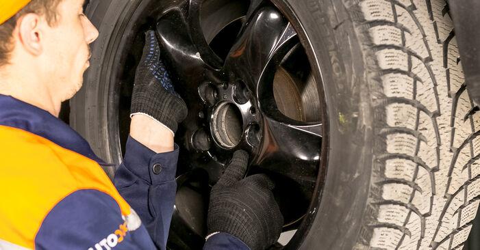 Wechseln Federn am BMW X5 (E53) 4.6 is 2003 selber