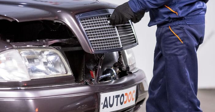 Wie Luftfilter Mercedes W202 C 180 1.8 (202.018) 1993 tauschen - Kostenlose PDF- und Videoanleitungen