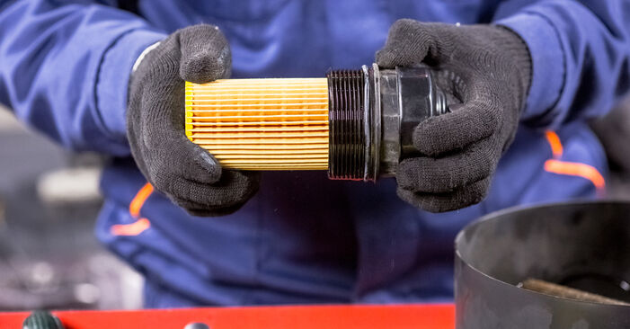 Need to know how to renew Oil Filter on MERCEDES-BENZ C-CLASS ? This free workshop manual will help you to do it yourself