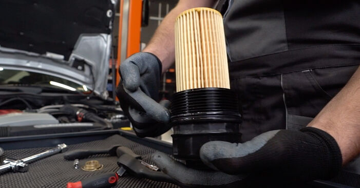 Changing of Oil Filter on Mercedes W202 1993 won't be an issue if you follow this illustrated step-by-step guide