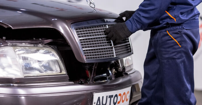 Wie Zündkerzen Mercedes W202 C 180 1.8 (202.018) 1993 tauschen - Kostenlose PDF- und Videoanleitungen