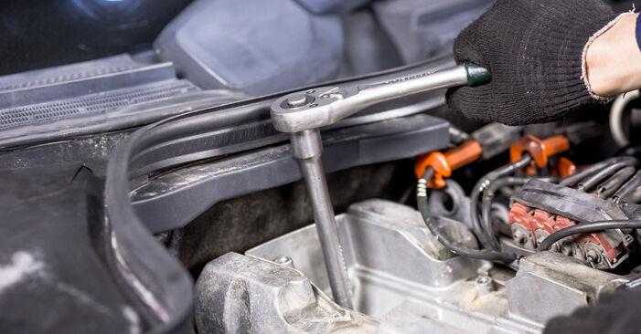 C-Klasse Limousine (W202) C 200 2.0 (202.020) 1996 C 250 2.5 Turbo Diesel (202.128) Zündkerzen - Handbuch zum Wechsel und der Reparatur eigenständig