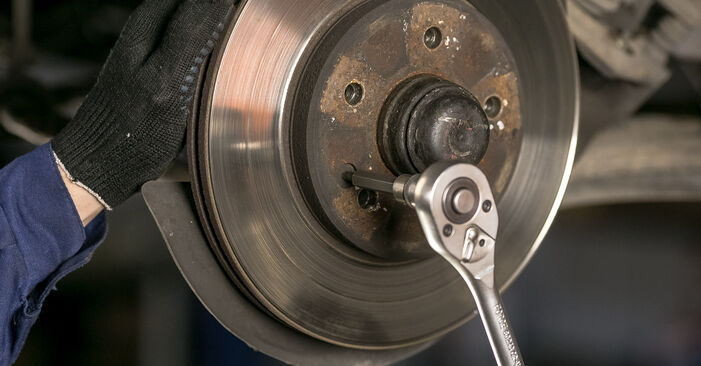 DIY replacement of Brake Discs on MERCEDES-BENZ C-Class Saloon (W202) C 220 D 2.2 (202.121) 1999 is not an issue anymore with our step-by-step tutorial