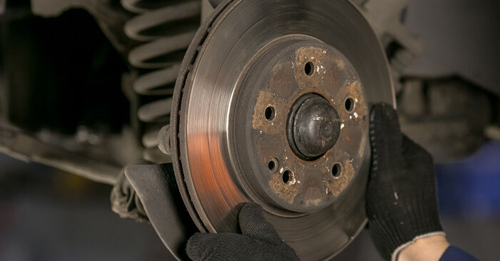 How to change Brake Discs on Mercedes W202 1993 - free PDF and video manuals