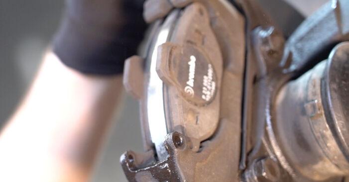 Vaihtaa Jarrupalat itse Fiat Punto 188 2009 1.2 60 -autoon