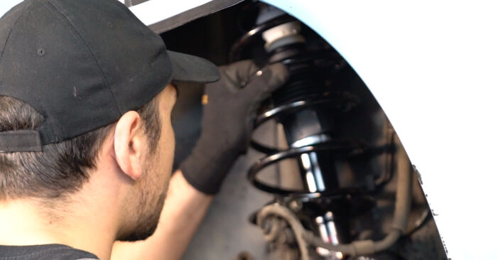 Wechseln Stoßdämpfer am FIAT PUNTO (188) 1.9 JTD 80 2002 selber