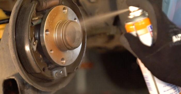 PUNTO (188) 1.9 JTD 2010 Wheel Bearing DIY replacement workshop manual