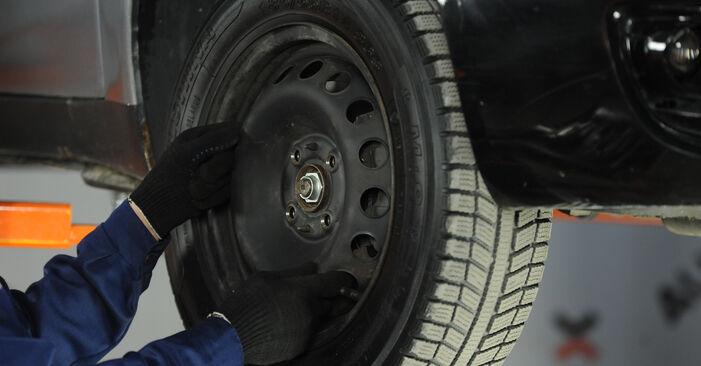 Domlager Ihres Fiat Punto 188 1.9 DS 60 2007 selbst Wechsel - Gratis Tutorial