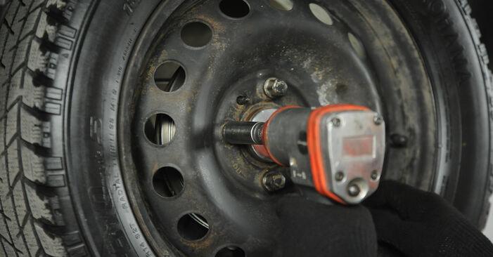 Wie Radbremszylinder Fiat Punto 188 1.2 60 1999 tauschen - Kostenlose PDF- und Videoanleitungen