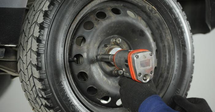 Tausch Tutorial Stoßdämpfer am FIAT PUNTO (188) 2011 wechselt - Tipps und Tricks