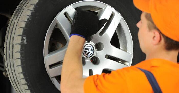 Wechseln Domlager am VW Golf IV Schrägheck (1J1) 1.9 TDI 2000 selber