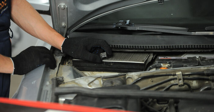 Changing Pollen Filter on VW PASSAT Variant (3B6) 2.0 2003 by yourself