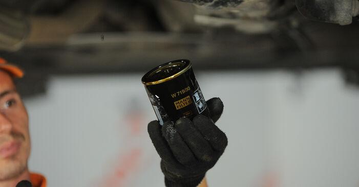 Ölfilter Passat 3B6 1.9 TDI 4motion 2002 wechseln: Kostenlose Reparaturhandbücher