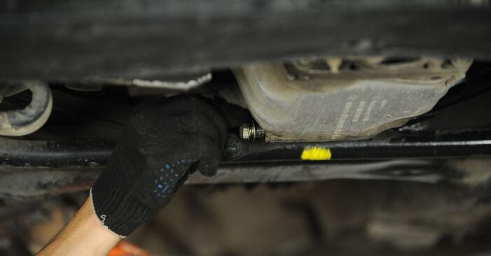 Wie schwer ist es, selbst zu reparieren: Ölfilter Passat 3B6 2.0 TDI 2000 Tausch - Downloaden Sie sich illustrierte Anleitungen