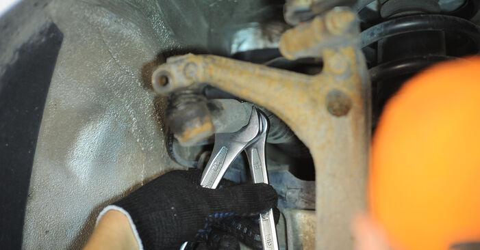 Spurstangenkopf beim VW PASSAT 2.5 TDI 4motion 2001 selber erneuern - DIY-Manual