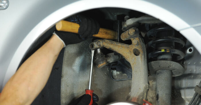 Changing of Track Rod End on Passat 3B6 2002 won't be an issue if you follow this illustrated step-by-step guide
