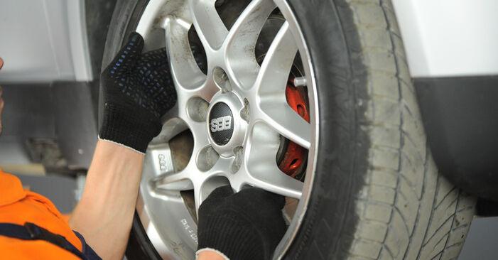 Wechseln Spurstangenkopf am VW PASSAT Variant (3B6) 2.0 2003 selber