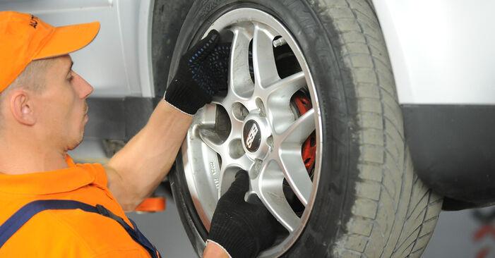 Comment retirer VW PASSAT 1.6 2004 Étrier De Frein - instructions en ligne faciles à suivre