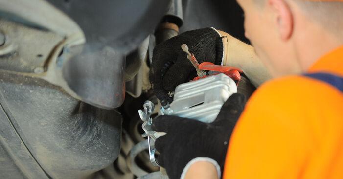 Svojpomocná výmena VW PASSAT Variant (3B6) 1.9 TDI 4motion 2002 Brzdový strmeň – online tutoriál