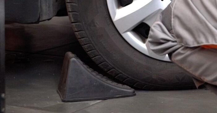 VW PASSAT 1.9 TDI Brzdový strmeň výmena: online návody a video tutoriály