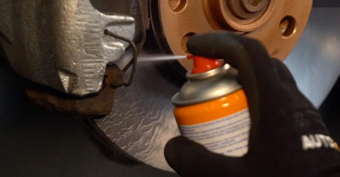 Ako odstrániť VW TRANSPORTER 2.5 TDI Syncro 1994 Lozisko kolesa - online jednoduché inštrukcie