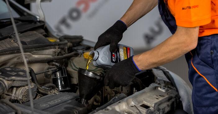 Wie Ölfilter beim Opel Corsa C 2000 gewechselt werden - Unentgeltliche PDF- und Videoanweisungen