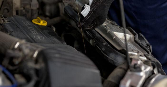 Opel Corsa C 1.0 (F08, F68) 2002 Ölfilter austauschen: Unentgeltliche Reparatur-Tutorials